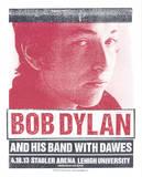 Bob Dylan Serigraph by  Print Mafia