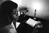 Maya Angelou Fotografie-Druck von G. Marshall Wilson