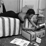 Maya Angelou Photographie par G. Marshall Wilson