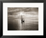 Diamond Head Yacht in Swiftsure Race Framed Photographic Print by Ray Krantz