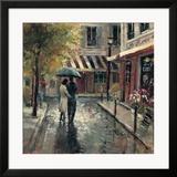 Romantischer Spaziergang Gerahmter Giclée-Druck von Brent Heighton