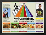 My Pyramid: Steps to a Healthier You Prints