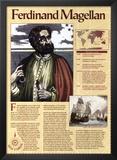 Great Explorers - Ferdinand Magellan Print