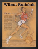 Great American Women - Wilma Rudolph Art
