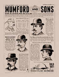 Mumford and Sons Serigraph by Kii Arens