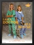 Doctor & Nurse Lámina