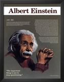 Heroes of the 20th Century - Albert Einstein Print
