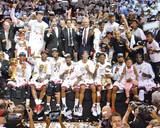 2013 NBA Champions Miami Heat Team Celebraton Photo