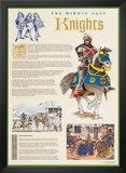 The Middle Ages - Knights Prints