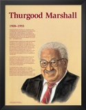 Great Black Americans - Thurgood Marshall Prints