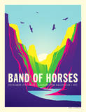 Band of Horses Prints by Kii Arens