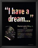 Great Black Americans - Martin Luther King Jr. Posters