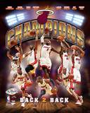 2013 NBA Champions Miami Heat - Champs Composite Photo