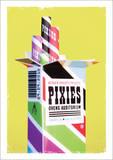 Pixies (2010) Plakat autor Kii Arens