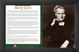 Women of Science - Marie Curie Poster