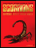 Scorpions - The Final Sting World Tour Posters par Kii Arens