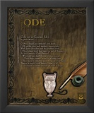 Ode Poetry Form Prints by Jeanne Stevenson
