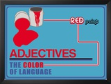 Adjectives Prints