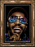 Stevie Wonder Posters by Kii Arens