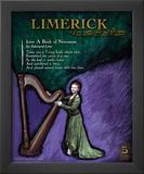 Limerick Poetry Form Poster by Jeanne Stevenson