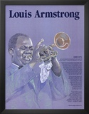 Great Black Americans - Louis Armstrong Art