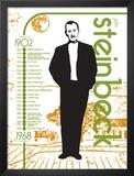 John Steinbeck Posters by Jeanne Stevenson
