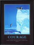 Coraje, en inglés Pósters por Steve Bloom