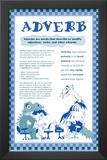 Adverb Prints