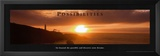 Possibilities: Lighthouse at Sunset Posters by Craig Tuttle