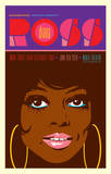 Diana Ross - More Today Than Yesterday Tour Poster von Kii Arens
