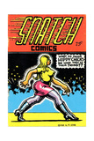 1960s USA Snatch Comics Comic/Annual Cover Giclee Print