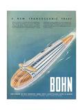 1940s USA Bohn Magazine Advertisement Giclee Print