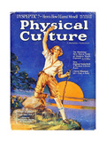 1930s USA Physical Culture Magazine Cover Art