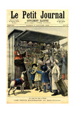1900s France Le Petit Journal Magazine Cover Giclee Print