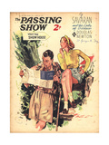 1930s UK The Passing Show Magazine Cover Prints