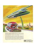 1950s USA Vanadium Corporation of America Magazine Advertisement Giclee Print