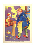 1930s UK Pinocchio Book Plate Giclee Print
