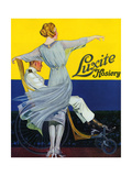 1910s USA Luxite Magazine Advertisement Art
