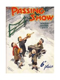 1920s UK The Passing Show Magazine Cover Posters