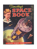 1930s UK Timothy's Space Book Book Cover Prints