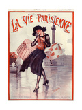 1920s France La Vie Parisienne Magazine Cover Poster