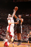 Miami, FL - June 20: Kawhi Leonard and LeBron James Photographic Print by Nathaniel S. Butler