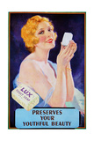 1910s UK Lux Magazine Advertisement Giclee Print