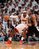 Miami, FL - June 20: LeBron James and Kawhi Leonard Photographic Print