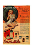 1930s USA Irrestibile Magazine Advertisement Giclee Print