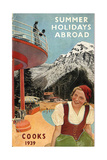 1930s UK Thomas Cook Brochure Cover Giclee Print