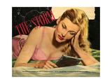 1950s UK Woman Magazine Plate Giclee Print