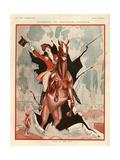 1920s France La Vie Parisienne Magazine Plate Impression giclée