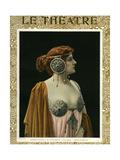 1900s France Le Theatre Magazine Cover Posters