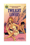 1960s USA Twilight Lovers Book Cover Prints